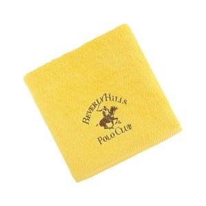 Ręcznik bawełniany BHPC 50x100 cm, żółty