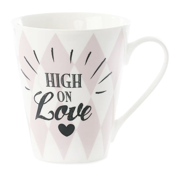 Kubek porcelanowy Miss Étoile Coffee High on Love