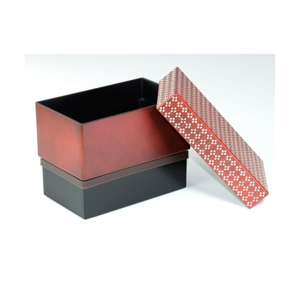 Pudełko na lunch Fresco Red, 980 ml