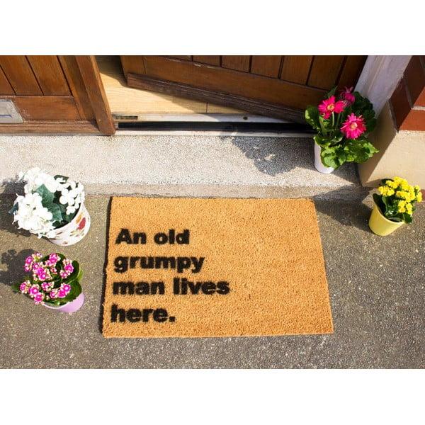 Wycieraczka Artsy Doormats Grumpy Man Lives Here, 40x60 cm