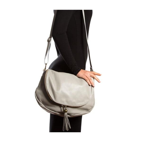 Skórzana torebka Isabella Rhea 2053, szara