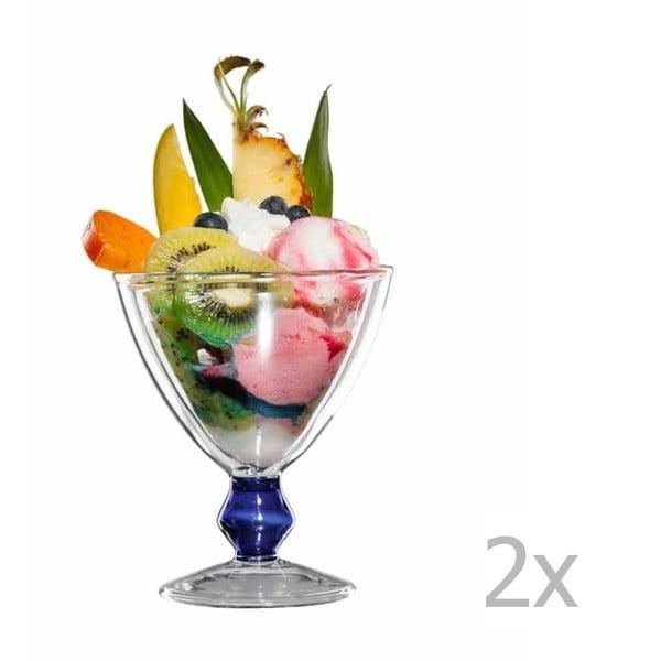 Zestaw 2   szklanych pucharków bloomix Billy