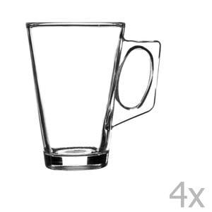 Zestaw 4 szklanek na latte Essentials, 240 ml