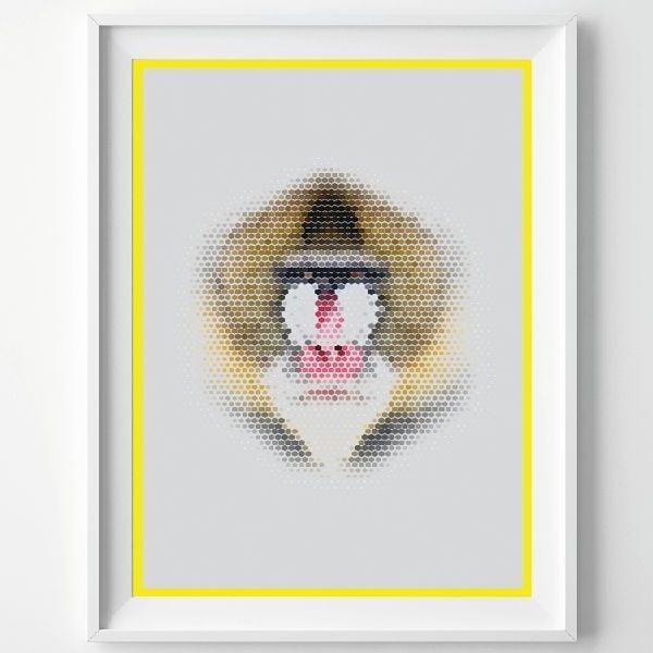 Plakat Monkey, A3