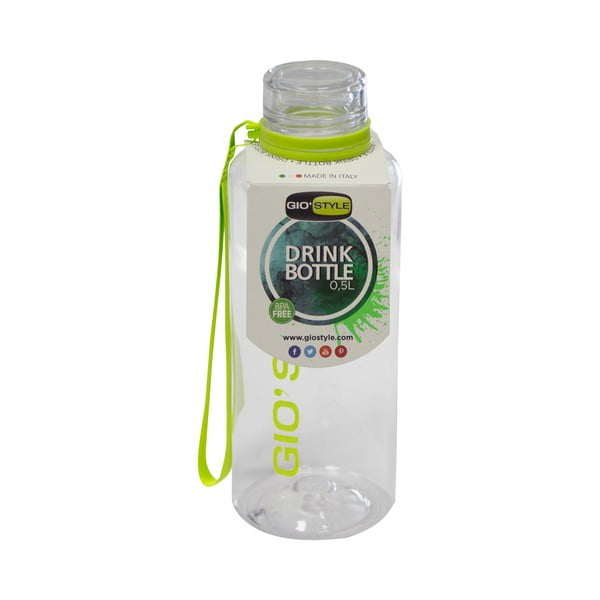 Butelka podróżna Gio'Style Evviva, zielona