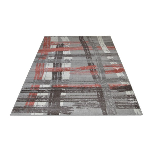Dywan Flair Rugs Lignes Grey, 133x190 cm