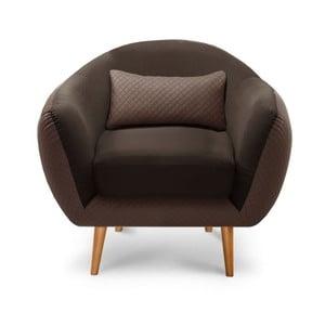 Fotel Meteore Brown/Brown