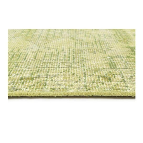 Limetkovy dywan wełniany ręcznie wiązany Sentimental,140x200cm