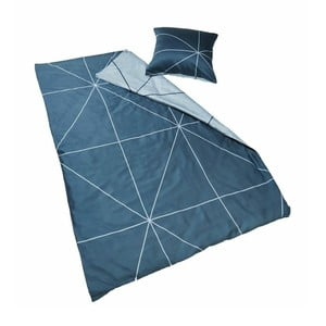 Pościel Geo Grey, 140x200 cm