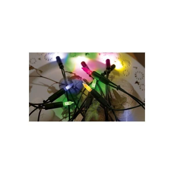 Lampki   choinkowe Best Season Lightchain Multi Green, 35 światełek