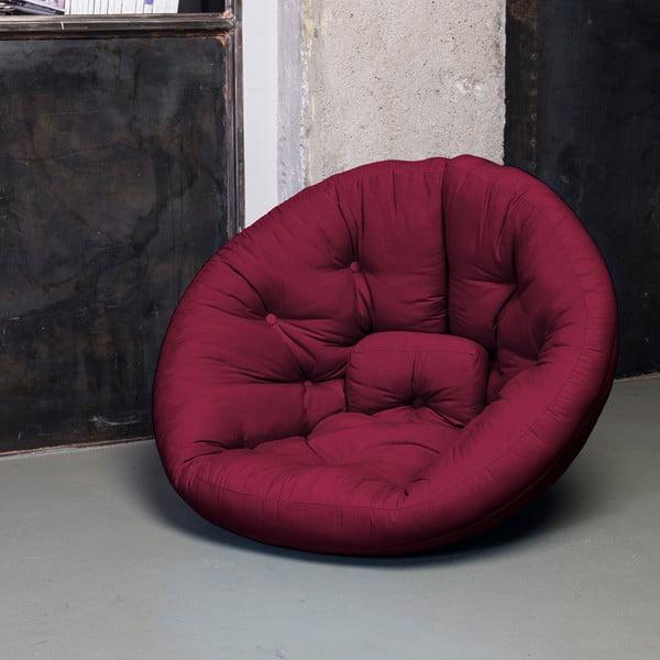 Fotel rokładany Karup Nest Bordeaux