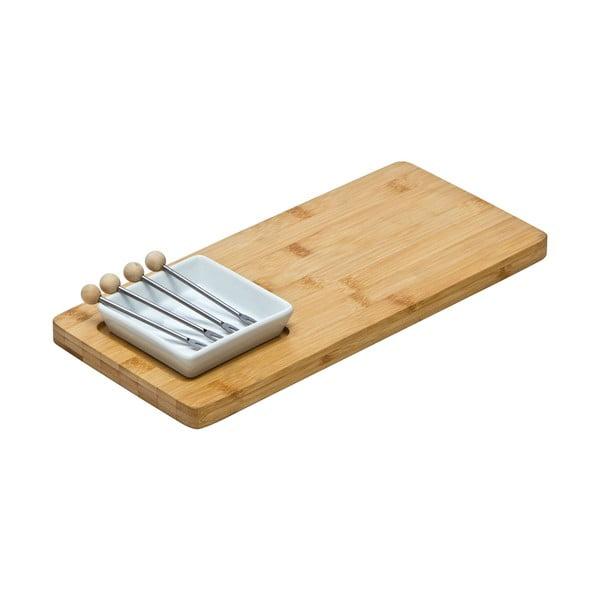 Deska do serwowania serów Premier Housewares Bamboo Snack