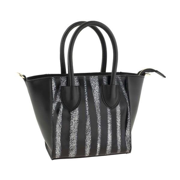 Skórzana torebka Kossie Zebra