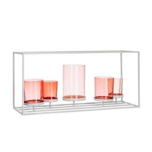 Świecznik Mix Coral, 42x14x19,5 cm