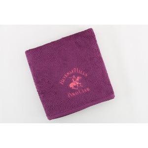 Ręcznik bawełniany BHPC 50x100 cm, fioletowo-różowy