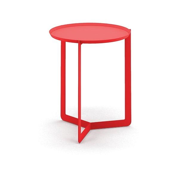 Czerwony stolik MEME Design Round