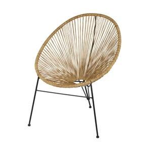 Brązowe krzesło De Eekhoorn Breeze