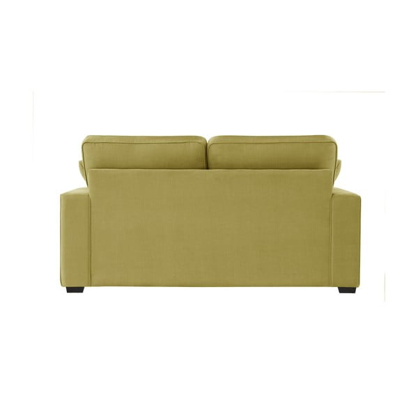 Żółta sofa dwuosobowa Jalouse Maison Serena
