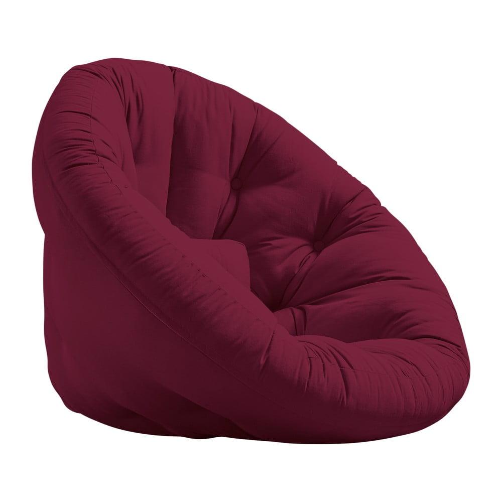 Fotel rozkładany Karup Design Nido Bordeaux