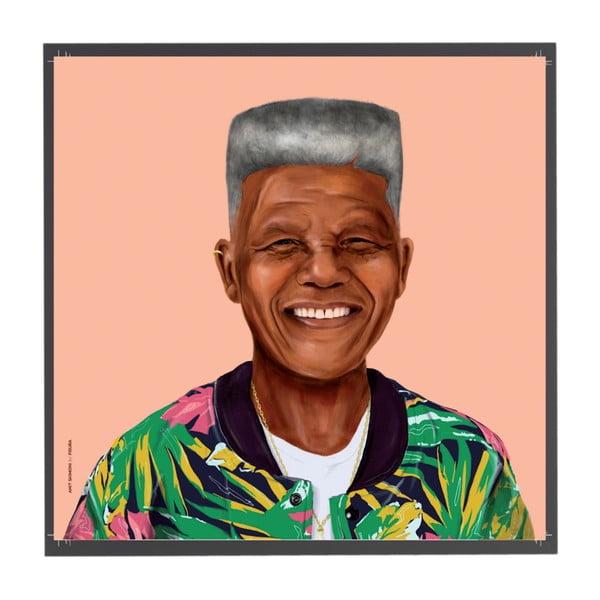 Obraz Nelson Mandela, 50x50 cm