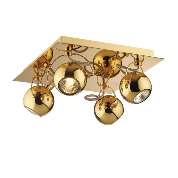Lampa sufitowa / kinkiet Crido Four Point Gold