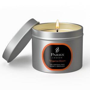 Świeczka Parks London, 25 godzin palenia, zapach mandarynki