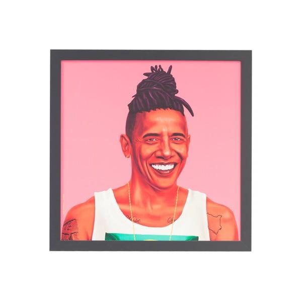 Obraz Fisura Barack Obama, 56x56 cm