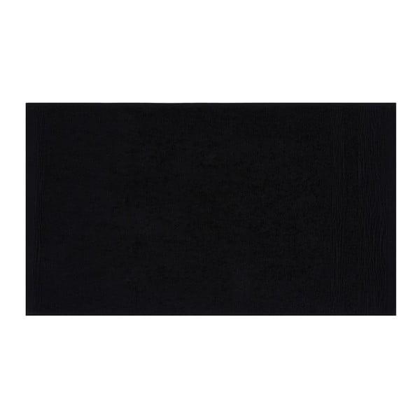 Zestaw sześciu czarnych ręczników Beverly Hills Polo Club, 50x30 cm