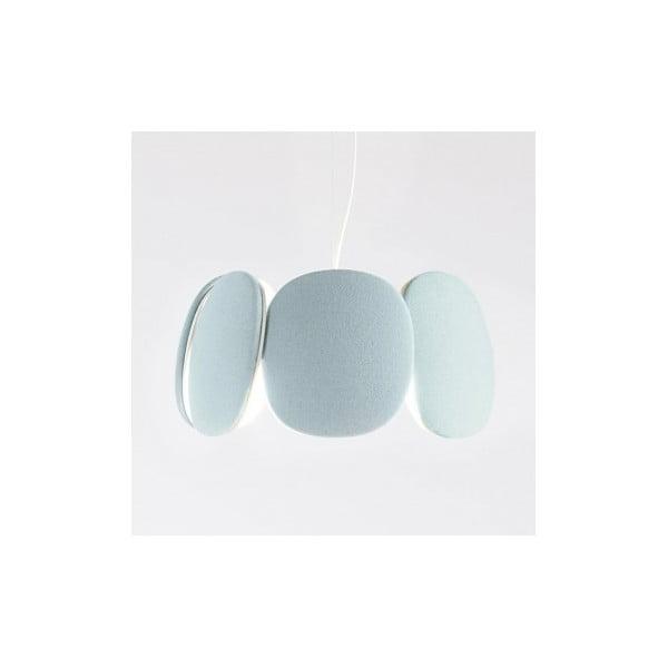 Lampa sufitowa Bloemi, jasnoniebieska