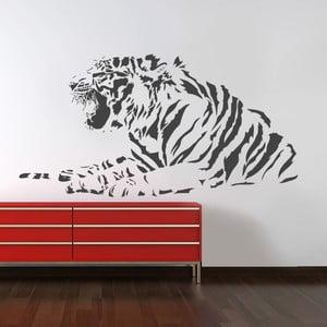 Naklejka na ścianę Tygrysia, 90x120 cm