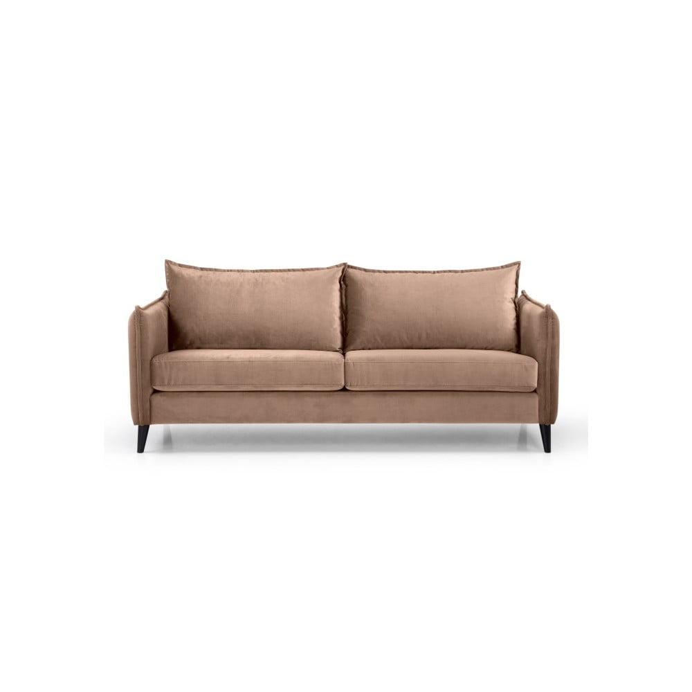 Beżowa sofa 3-osobowa Scandic Leo