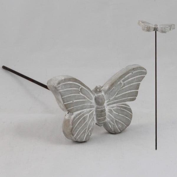 Betonowa dekoracja Butterfly