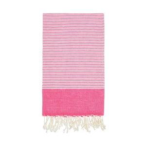 Ręcznik hammam Side Pink, 100x180 cm