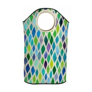 Kosz na pranie Butter Kings Green Mosaic