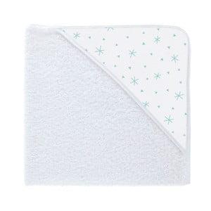 Ręcznik kąpielowy z kapturkiem Pooch Asterisk Azul, 80x75cm
