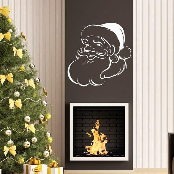Naklejka White Santa Claus