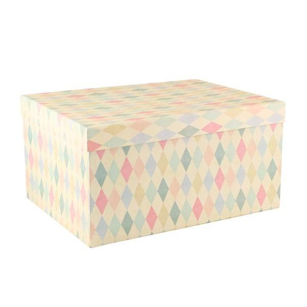 Komplet 5 pudełek Storage Square/Stripe/Dot