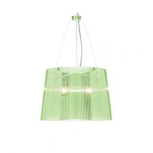 Lampa wisząca Kartell GÉ Crystal, zielona