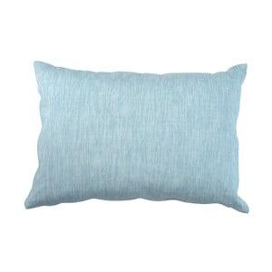 Niebieska poduszka Walra Karla, 40x60cm