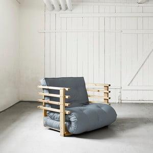 Fotel rozkładany Karup Funk Natural/Gris