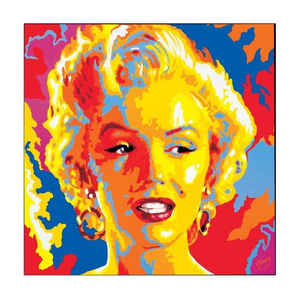 Obraz Vladimir Gorsky - Marylin Monroe, 85x85 cm