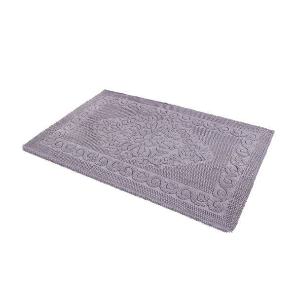 Mata łazienkowa Damask Grey, 60x100 cm