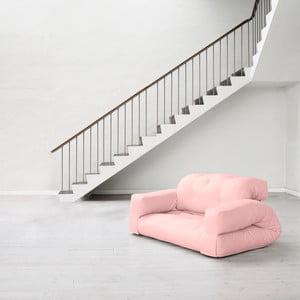 Sofa rozkładana Karup Hippo Pink Peonie