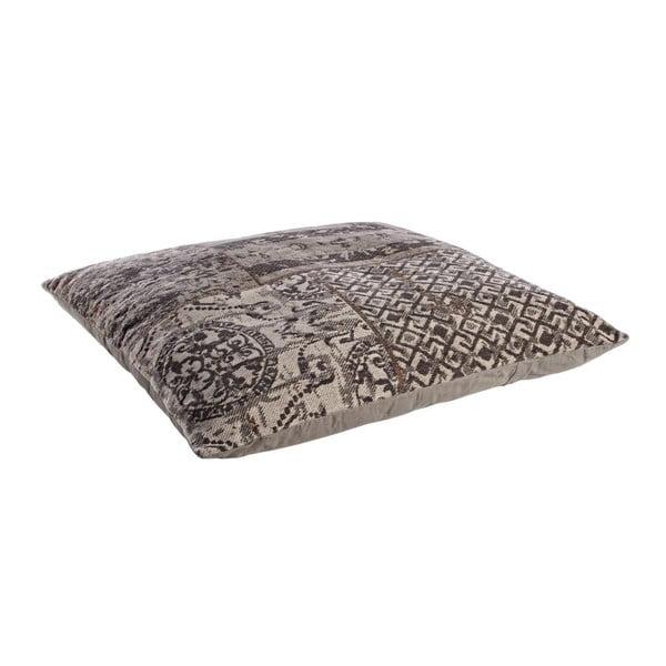 Poduszka z wypełnieniem Twist Grigio, 100x100 cm