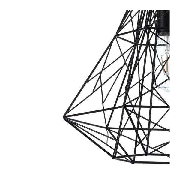 Czarna lampa wisząca Tomasucci Diamond Black