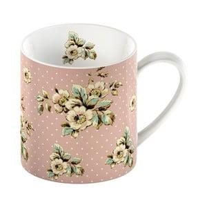 Różowy kubek porcelanowy Creative Tops Cottage Flower, 330ml