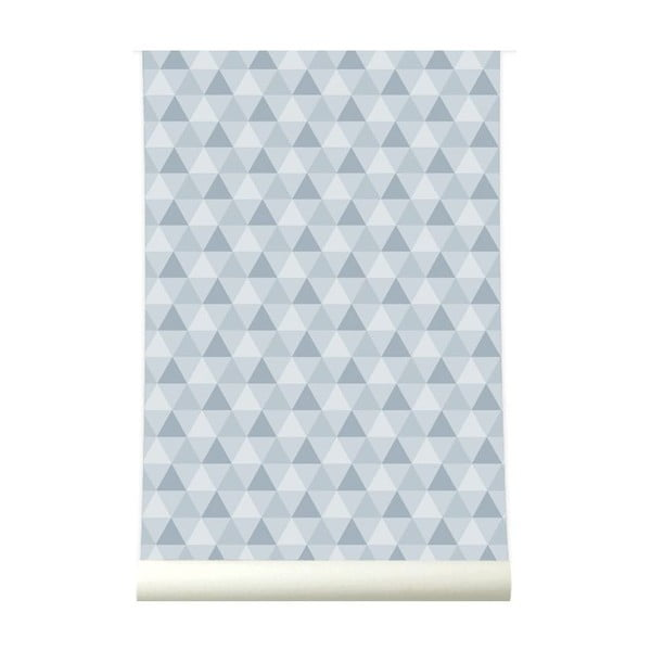 Tapeta Triangles Grey