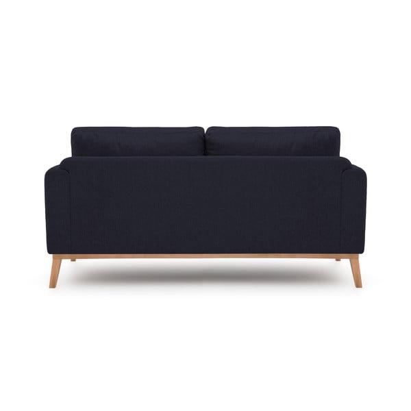 Granatowa sofa trzyosobowa VIVONITA Milton