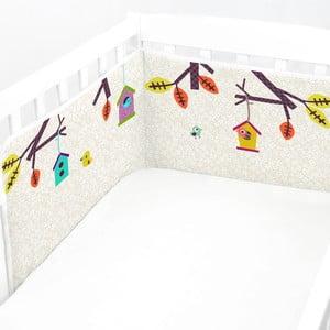 Regulowany ochraniacz do łóżeczka Baleno Sweet Home, 210x40 cm