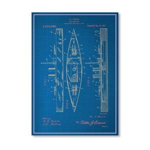 Plakat Toy Warship, 30x42 cm